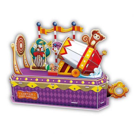 PUZZLE 3D - CBF1 - Tunul clown-ului
