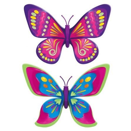 FLUTURASUL MAGIC - SET 2 BUC - Pink & Green - ZURU