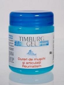 Timburg Gel Albastru masaj antireumatic 500 ml