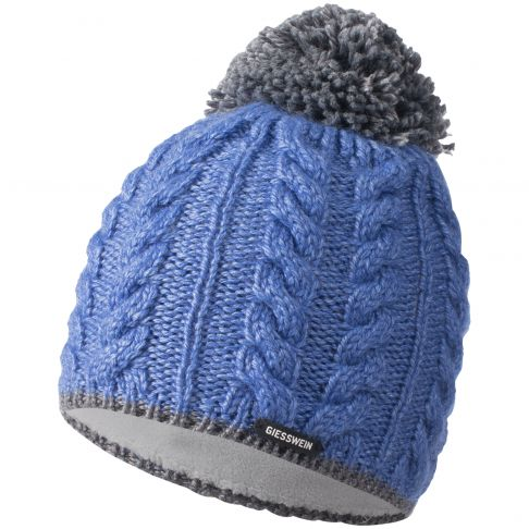 Caciula lana, model Hochfelln, albastru