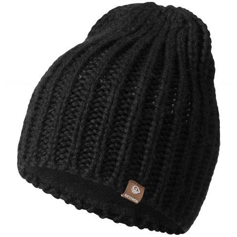 Caciula din lana, model Giebel, negru