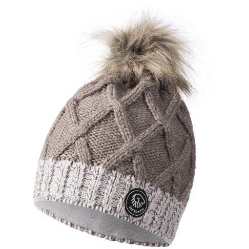 Caciula lana merino, model Monte Fumo, bej
