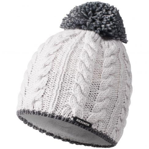 Caciula lana, model Hochfelln, alb