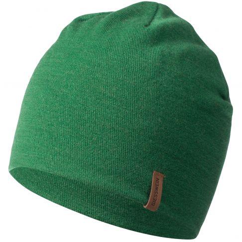 Caciula lana merino, model Gehrenspitze, verde, unisex