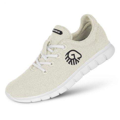 Pantofi dama Merino Runners alb fildes 39