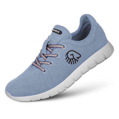 Pantofi dama Merino Runners bleu 38