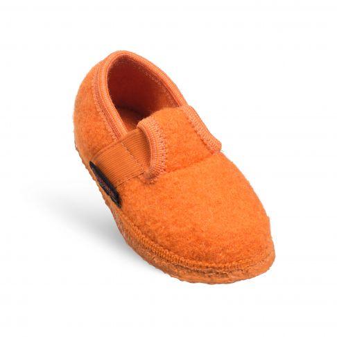Papuci de casa Turnberg, din lana, unisex, orange 24