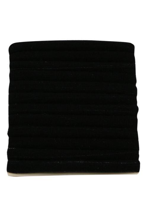Set 12 elastice pentru par, negre