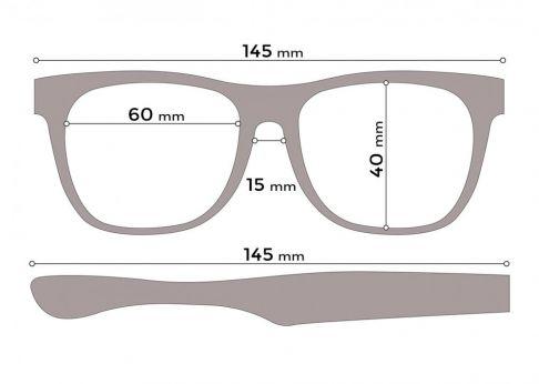 Ochelari de soare pentru barbati, Rectangulari polarizati