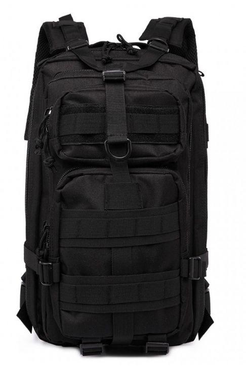 Rucsac pentru hiking, multi compartimentat, negru E1729 BK