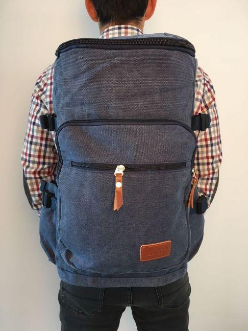 Rucsac multifuncional, 45 lt, casual, hiking, albastru E6643 NY