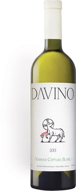 DAVINO DOMAINE CEPTURA BLANC