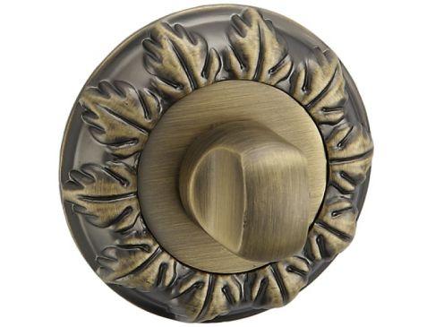 Maner Gloria bronz antic mat FARA ROZETA