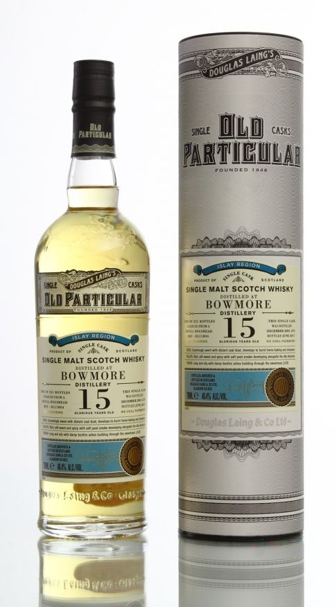BOWMORE 15Y OLD PARTICULAR - 70cl