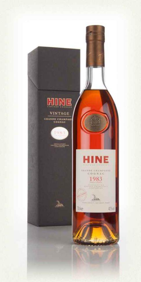 COGNAC HINE VINTAGE 1983 GRANDE CHAMPAGNE - 70cl