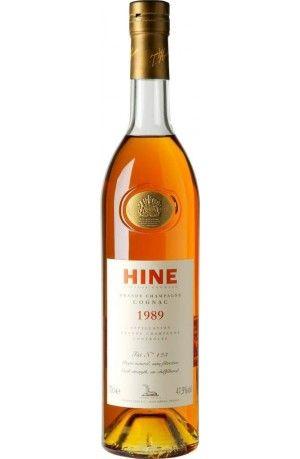 COGNAC HINE VINTAGE 1989 GRANDE CHAMPAGNE - 70cl