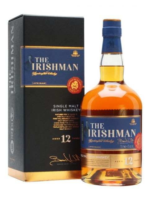 IRISHMAN SINGLE MALT 12Y - 70cl