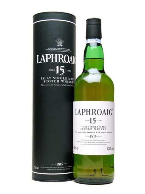 LAPHROAIG 15Y – 70cl