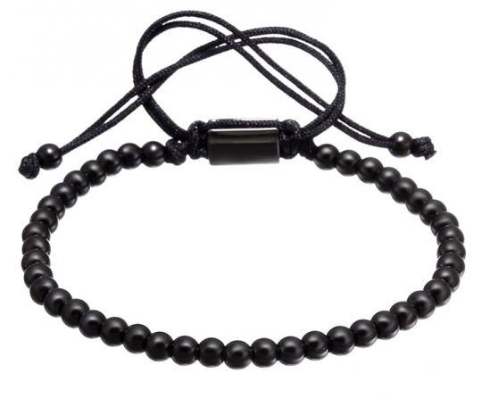 All Black Brooks Bracelet BLACK