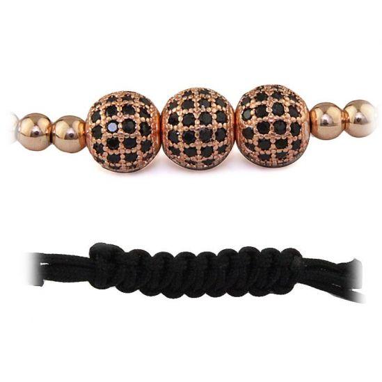 Brooks Rose Gold 14K Zirconia Bracelet