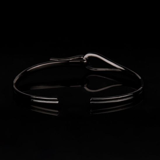 All Black Men Zircon Bangle