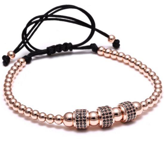 Brooks Rose Gold 14K Zircon Bracelet