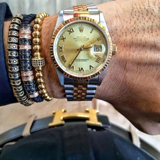 Brooks Luxury Men Charm Bracelet