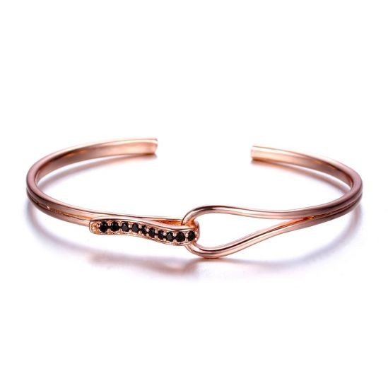 Brooks Women Rose Gold Bangle