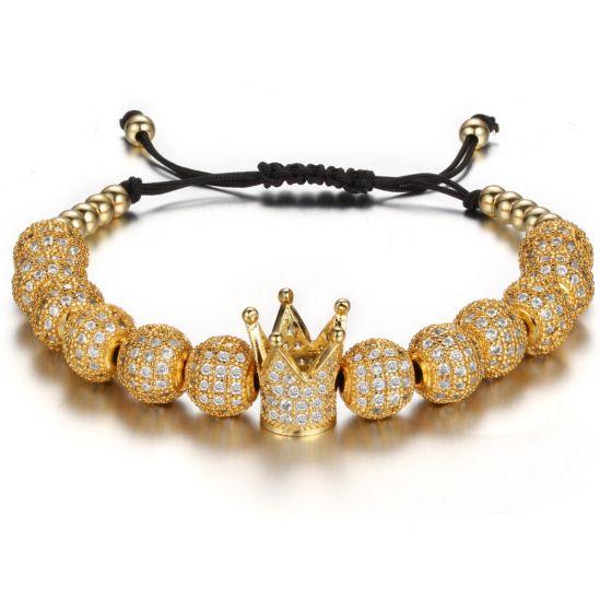 Brooks Zircon Gold Queen Crown