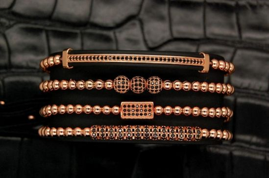 Brooks Luxury Women Set 4 Bracelets