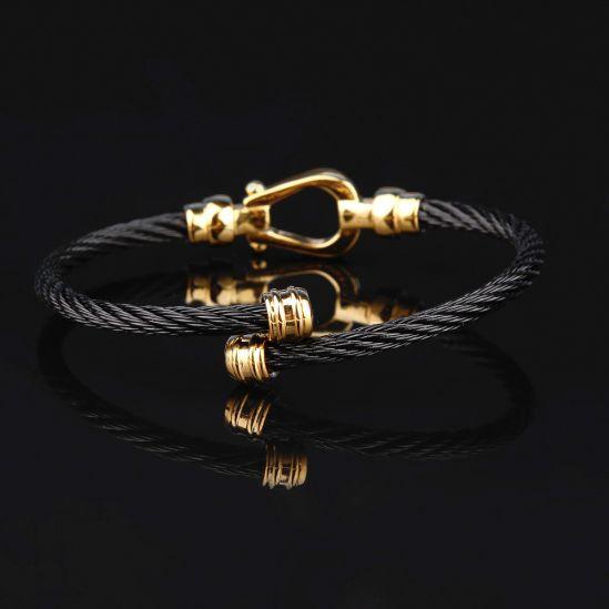 Nautical Marina Gold Anchor