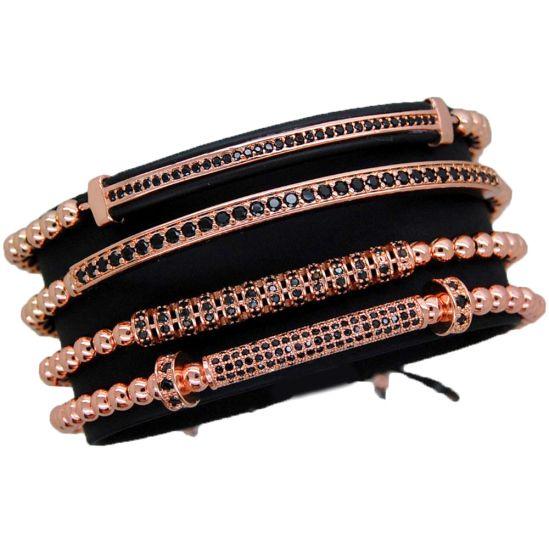 Luxury Set Rose Gold 14K Brooks Bracelets