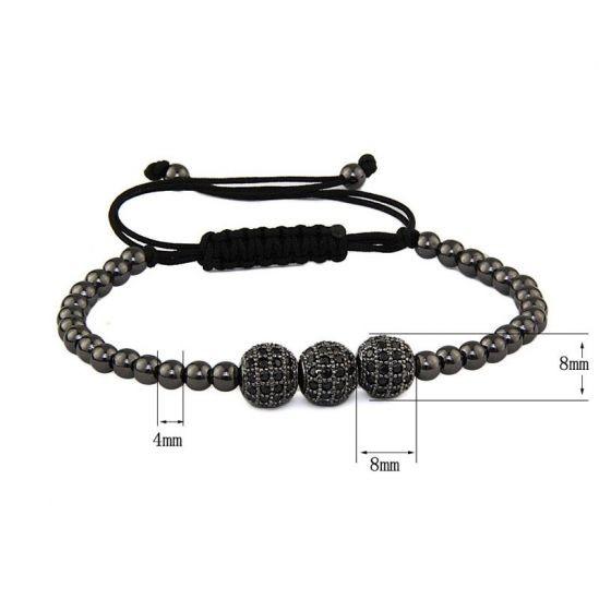 Black Zircon Women Bracelet