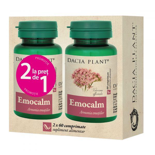 emocalm, comprimate, remediu natural,atacuri de panica, anxietate, distonii neuro-vegetative
