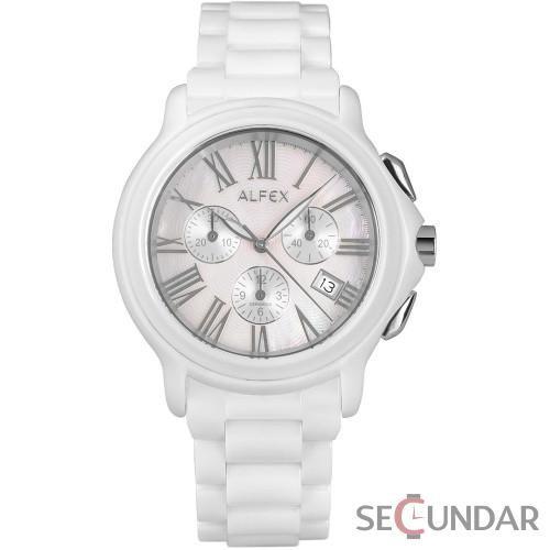 Ceas Alfex 5629_791 Ceramic Bracelet & Case Analog Barbatesc