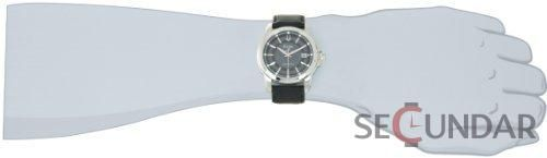 Ceas Bulova 96B158 Precisionist Grey Dial Black Leather Strap Barbatesc