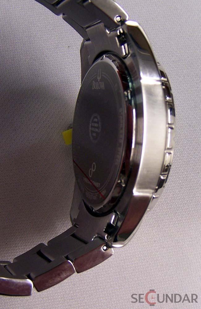 Ceas Bulova 96B172 Precisionist Campton Stainless Steel Grey Dial Dive Barbatesc