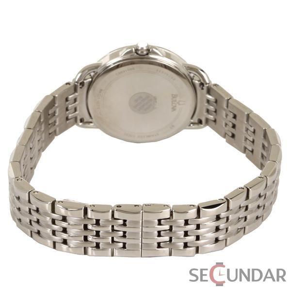 Ceas Bulova 96L171 Dress Stainless Steel Silver-Tone Dial de Dama