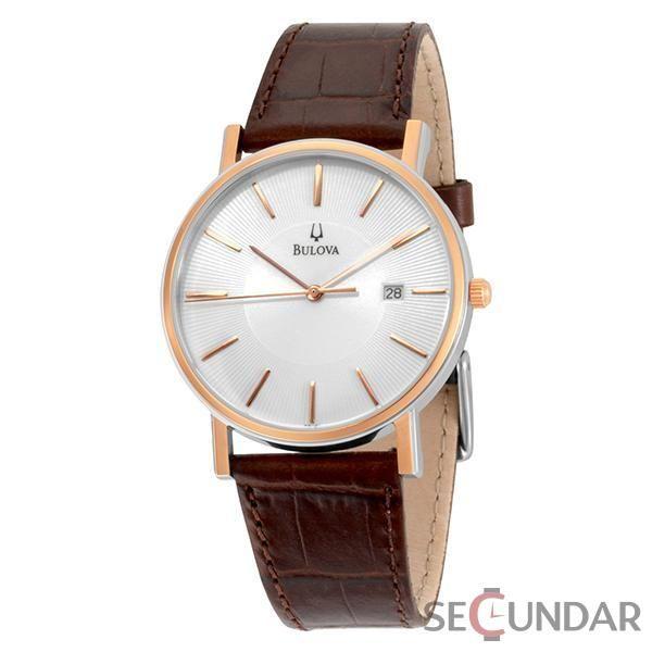 Ceas Bulova 98H51 Leather Dress Barbatesc