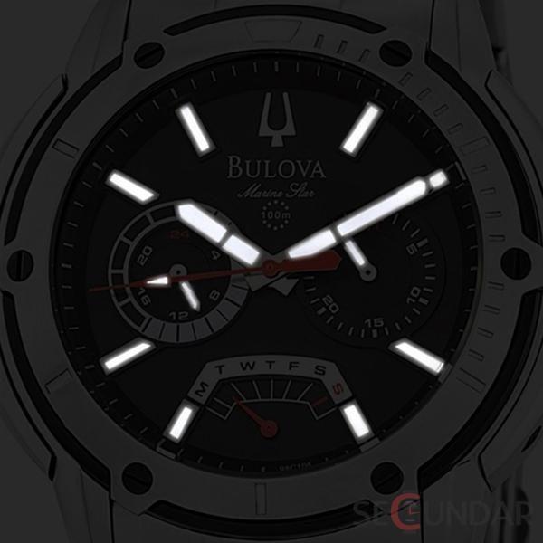 Ceas Bulova SPORT 98C105 Black Dial Marine Star Barbatesc