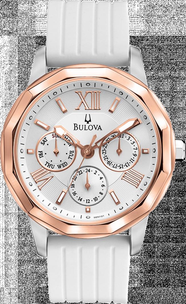 Ceas Bulova Sport 98N101 White Silicone de Dama