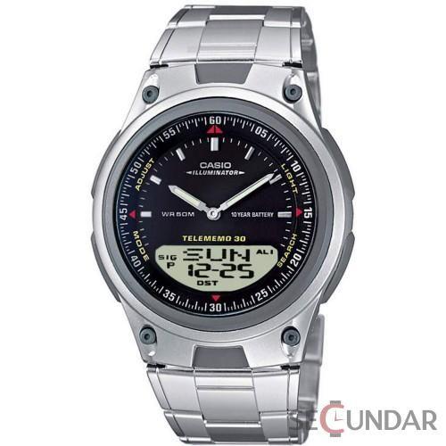 Ceas Casio Casual Sport AW-80D-1A 10-Year Battery Ana-Digi Bracelet Barbatesc