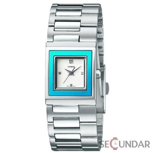 Ceas Casio Classic Core LTP-1317D-2C Silver Stainless-Steel Quartz de Dama