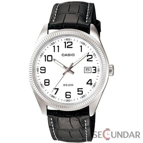 Ceas Casio Classic MTP-1302L-7B White Dial Barbatesc