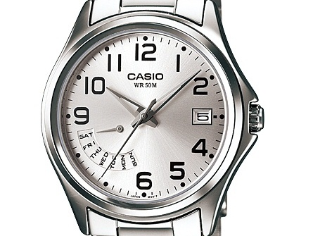 Ceas Casio Classic MTP-1369D-7B Analog Stainless Steel Barbatesc