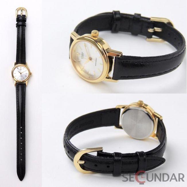 Ceas Casio LTP-1095Q-9A Clasic Golden Collection de Dama