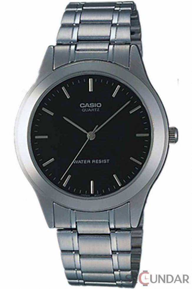 Ceas Casio MTP-1128A-1ARDF Metal Fashion Silver Collection Barbatesc