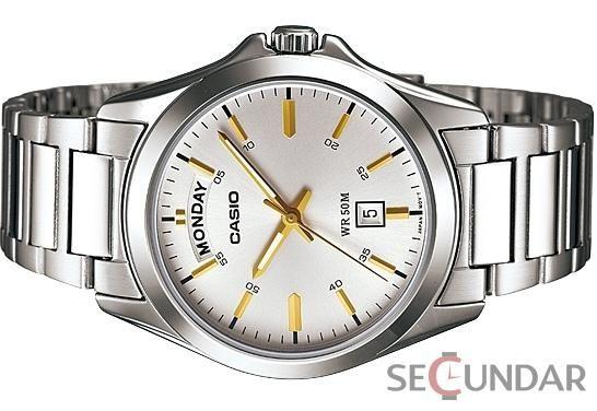 Ceas Casio MTP-1370D-7A2VDF Metal Fashion Silver Barbatesc