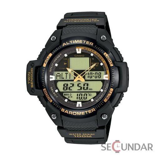 Ceas Casio Sports SGW-400H-1B2 Twin Sensor Barbatesc