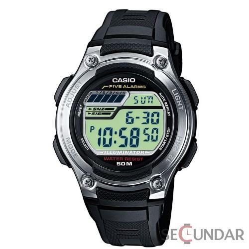 Ceas Casio Sports W-212H-1A Black Barbatesc